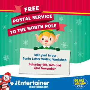 Entertainer Santa Letter