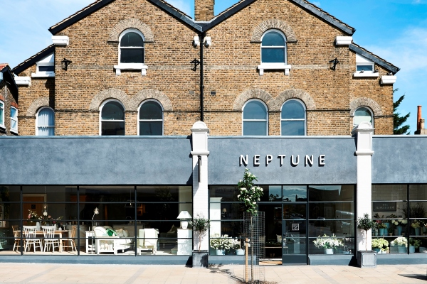 Front of Neptune shop in Wimbledon