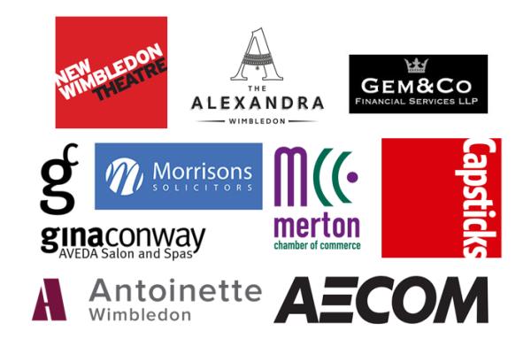 Love Wimbledon board member company logos