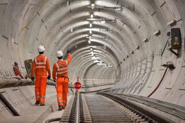 Crossrail 2 tunnel workers