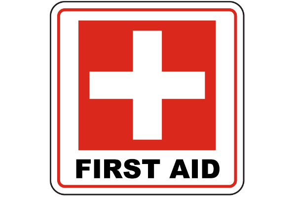 Emergency First Aid sign