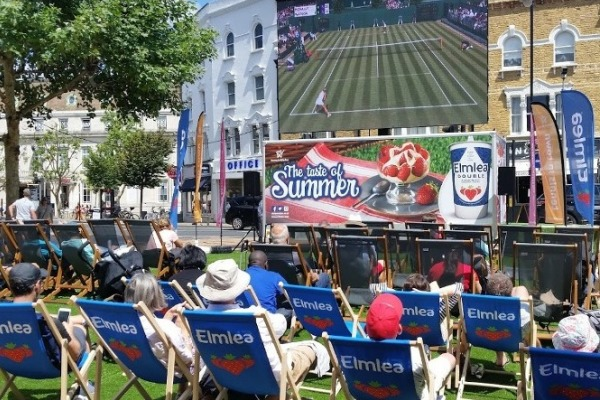 Elmlea sponsor the Big Screen