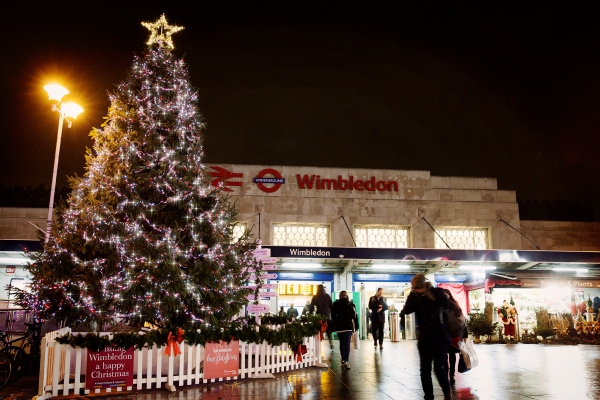 Love Wimbledon Christmas Tree