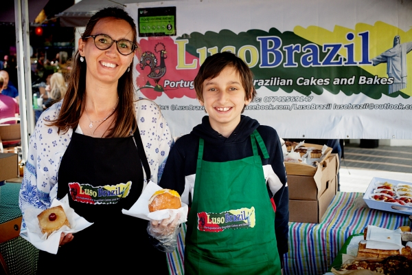 Lusobrazil food stall