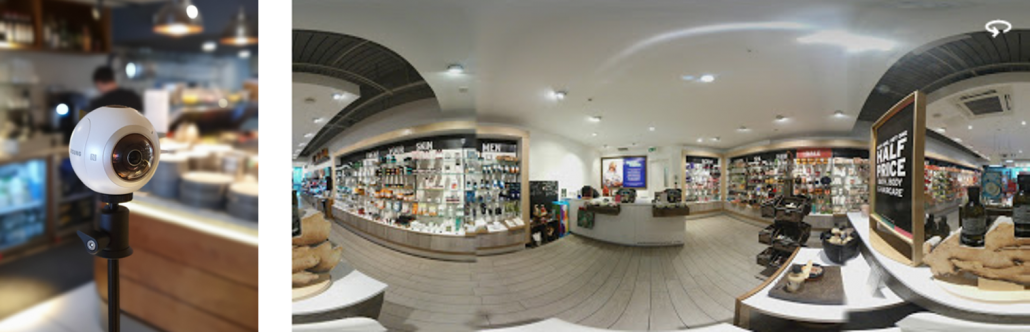 Google 360 The Body Shop