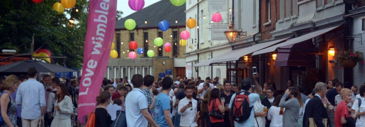 Vibrancy of Wimbledon Town Centre
