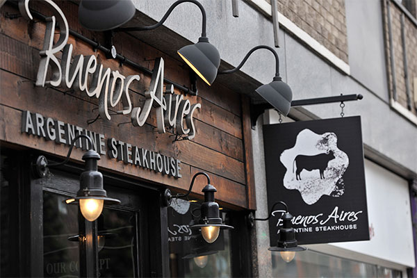 Buenos Aires Steak Restaurants London