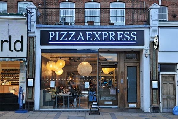 Pizza Express Love Wimbledon