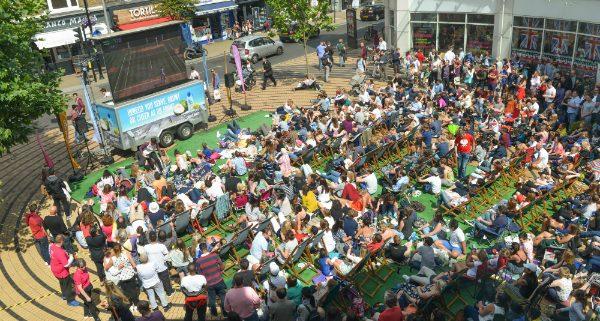 Tennis Big Screen July Am Pm Love Wimbledon - Where is wimbledon