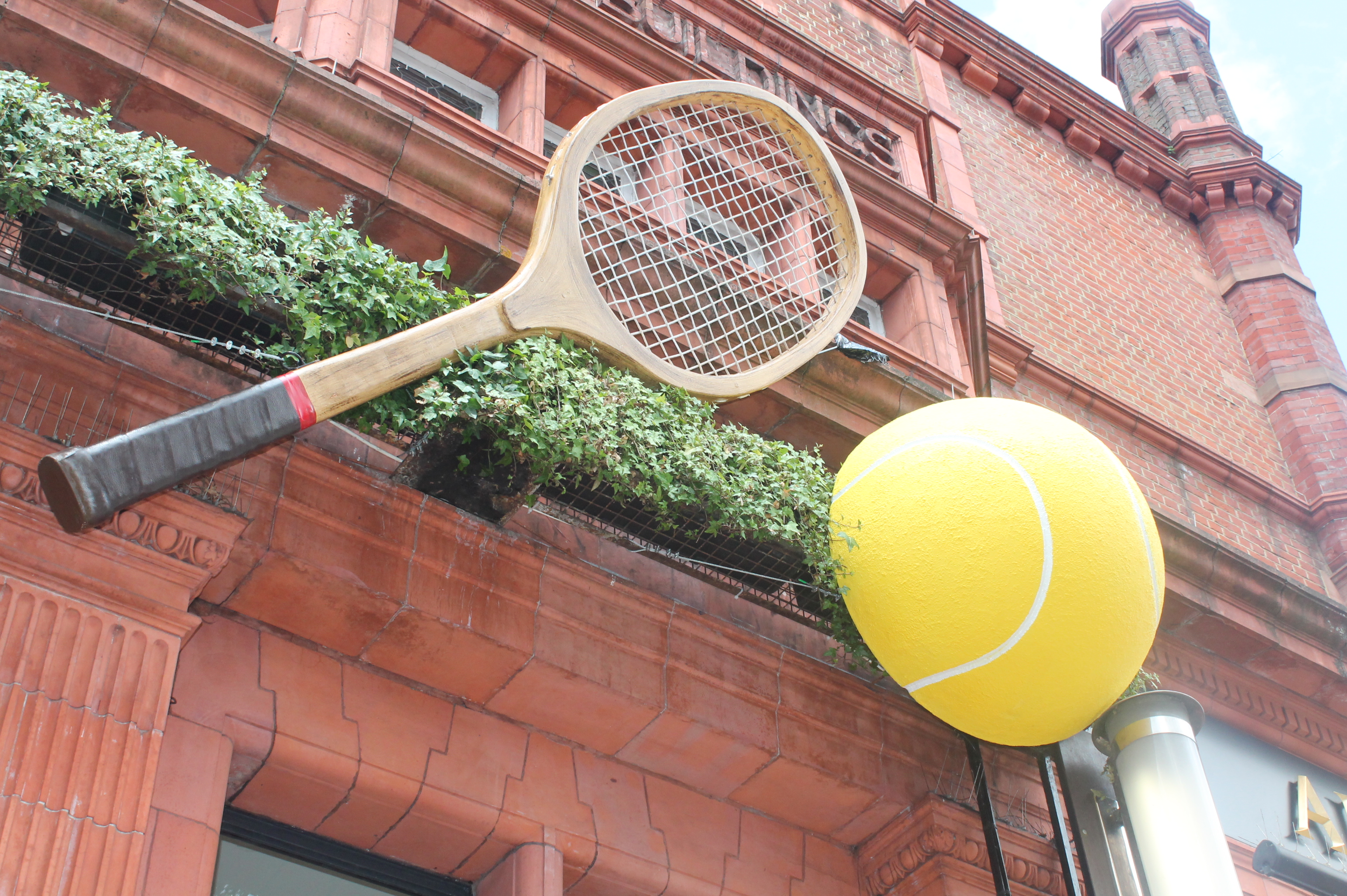 Tennis Fever Hits The Town Centre Love Wimbledon