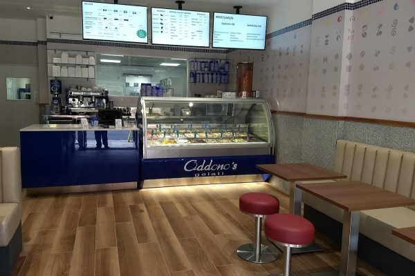 Oddonos gelati shop in wimbledon