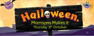 Morrisons Halloween