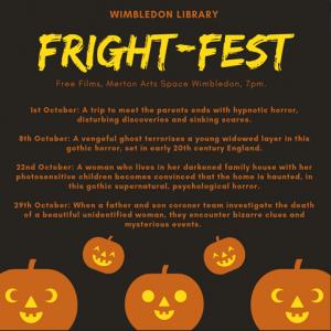Wimbledon Library Frightfest