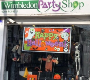 Wimbledon Party Shop Halloween